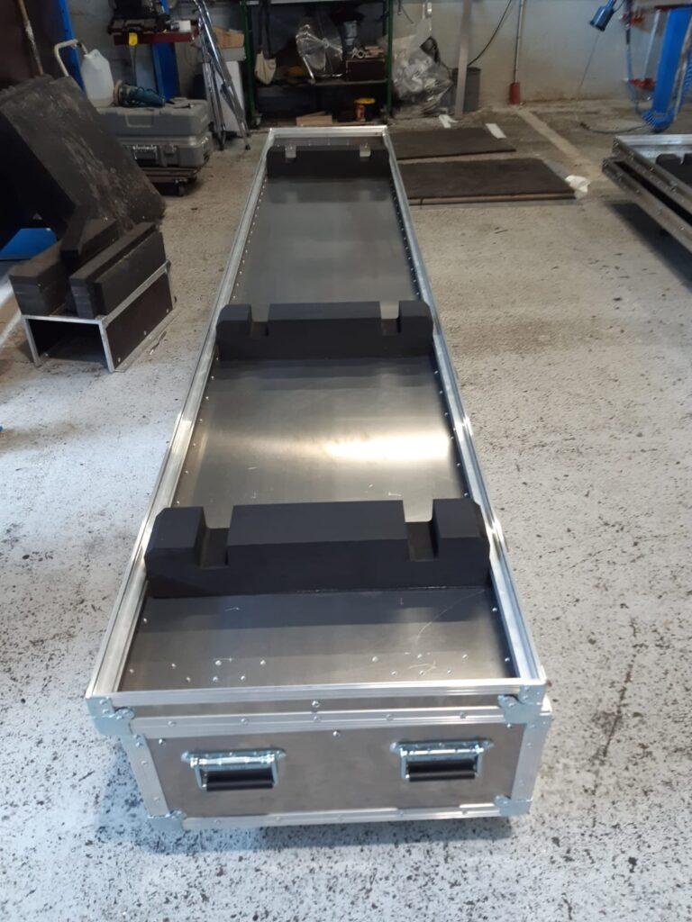 fabrication Caisse aluminium sur-mesure grande longueur