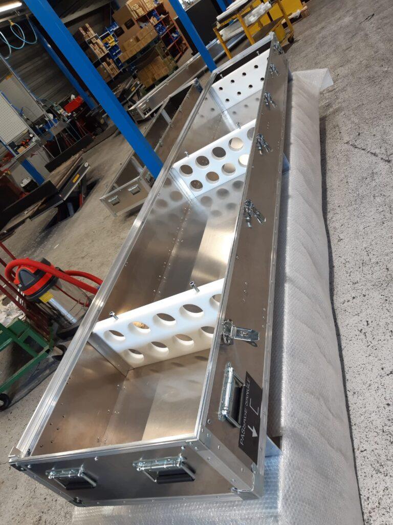 Caisse aluminium sur-mesure grande longueur