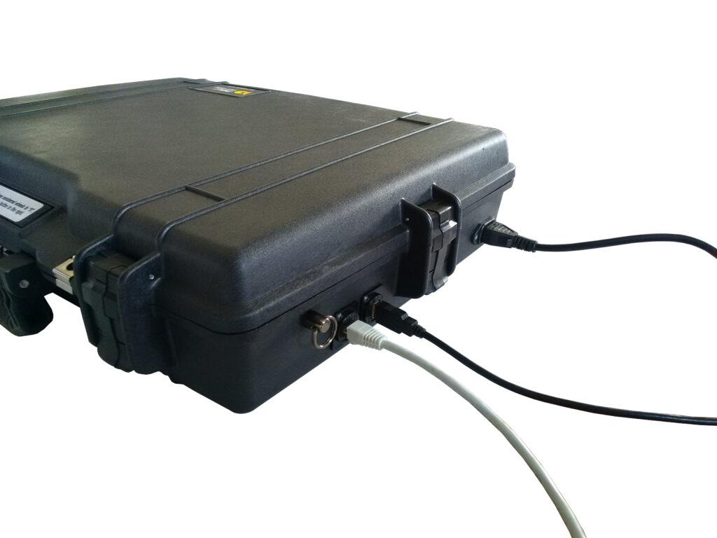 Intégration technique dans valise